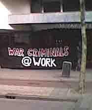 Actie tegen Rotterdams oorlogsbedrijf