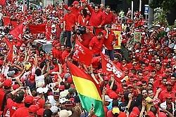 Venezuelan Masses Crossing the Rubicon