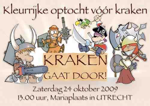 Zaterdag 24 oktober, 13:00 Mariaplaats Utrecht