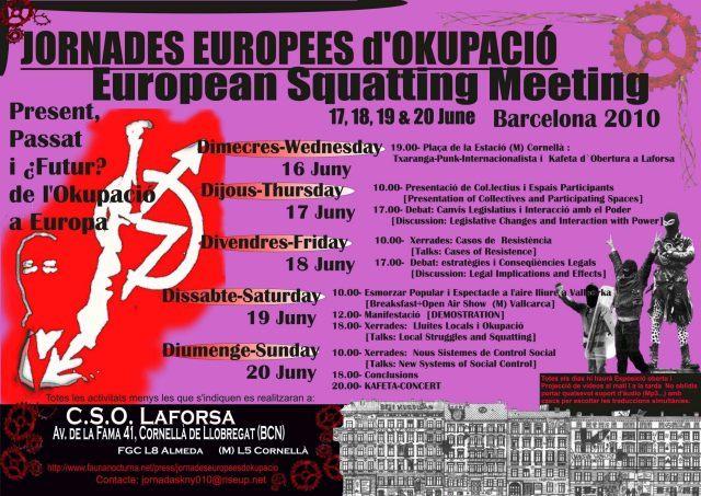 EUROPEAN SQUATTING  MEETING
