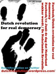 Dutch Revolution for REAL democracy