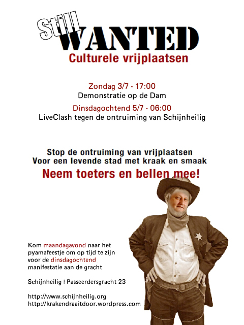 Our dutch call-out flyer